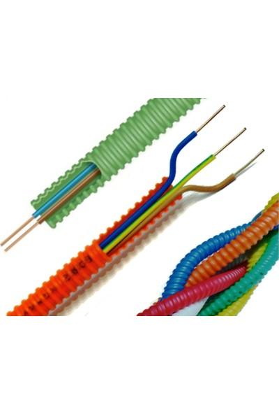 Bores Hazır Spiral Borulu 2X1,5 Enerji Nya Kablo 25Mt.