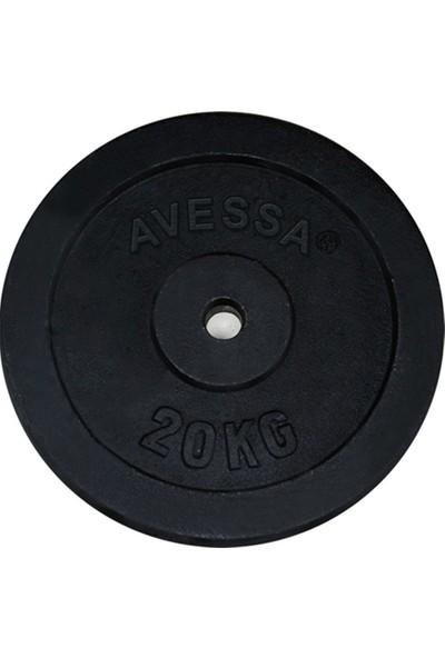 Avessa Döküm Ağırlık Plakaları 2,5 kg