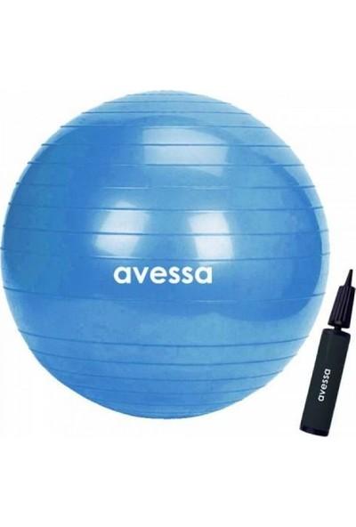 Avessa Plt - 55 55 cm Pilates Topu + Pompa
