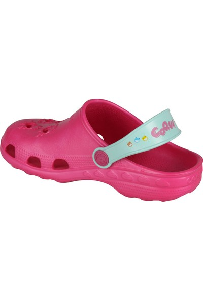 Coqui Kız Çocuk Fuşya Sandalet 8701 Q023 LITTLE FROG