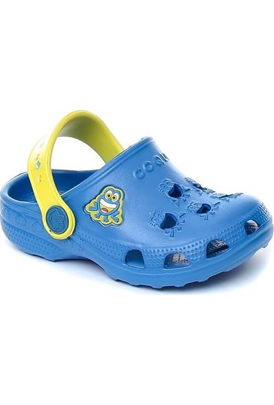 Coqui Erkek Çocuk Mavi Sandalet 8701 Q042 LITTLE FROG