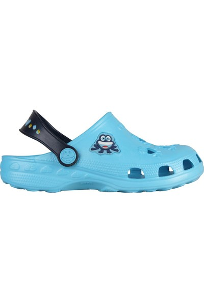 Coqui Erkek Çocuk Turkuaz Sandalet 8701 Q009 LITTLE FROG