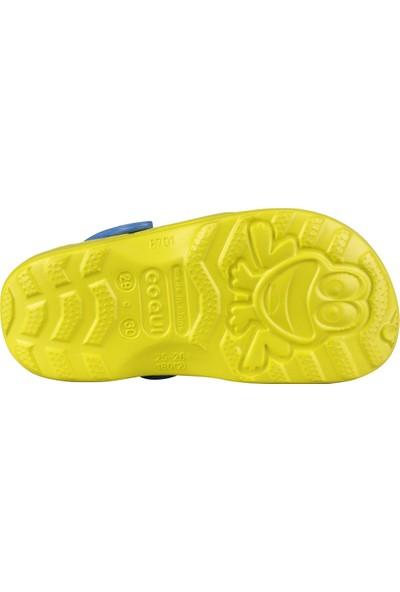 Coqui Kız Çocuk Sarı Sandalet 8701 Q012 LITTLE FROG