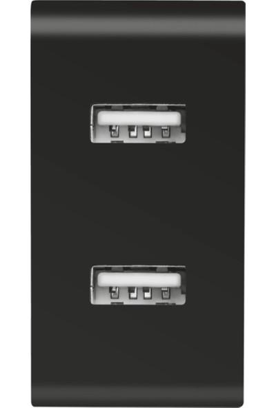 Trust 21712 2X USB Duvar Tipi Şarj Cihazı (2,4A/12W)