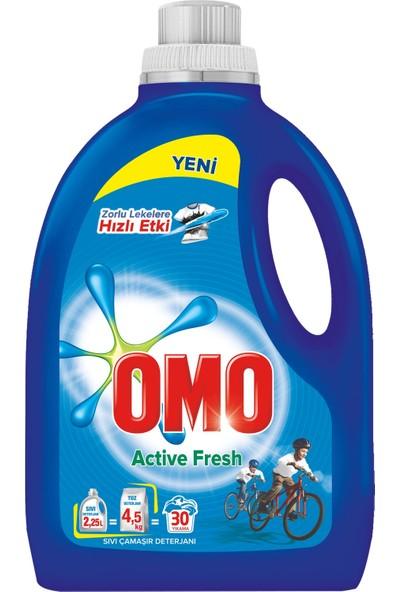 Omo Active Fresh Sıvı Çamaşır Deterjanı 2250 Ml