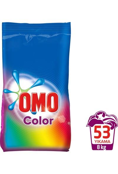 Omo Toz Çamaşır Deterjanı Color 8 kg