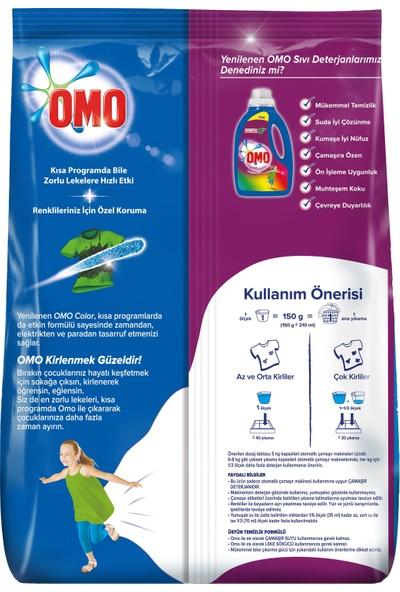 Omo Toz Çamaşır Deterjanı Color 40 Yıkama 6 Kg