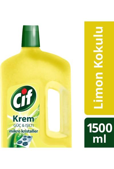 Cif Krem Temizleyici Limon Kokulu 1500 ML