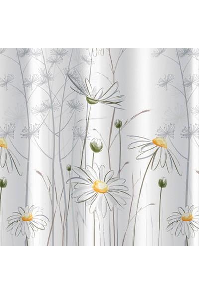 Prado Daisy Banyo Perdesi, Duş Perdesi 180x200cm