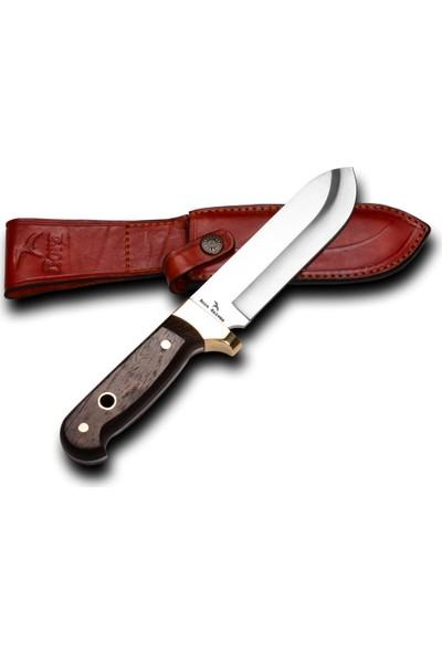 Bora 407 W Büyük Yüzme Wenge Saplı Bıçak 440C