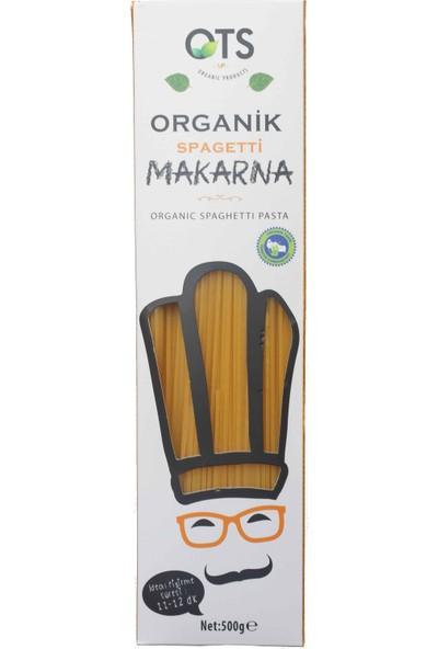 Ots Organik Çubuk Spagetti Makarna 500 Gr