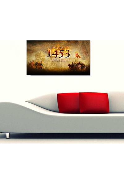 Cepmedya İstanbul 1453 Temalı Kanvas Tablo 50 x 70