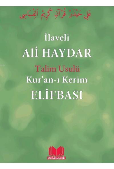 Ali Haydar Elifbası Talim Usulû