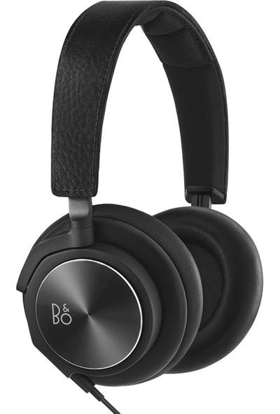 Bang & Olufsen BeoPlay H6 Siyah Deri Kulak Üstü Kulaklık BO-1642001