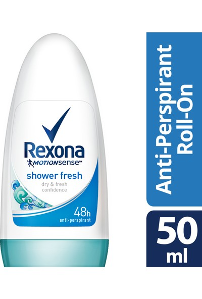 Rexona Shower Fresh Kadın Roll On Deodorant 50 ml