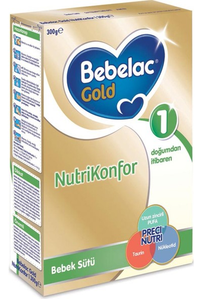 Bebelac Nutrikonfor 1 Bebek Sütü 300 gr