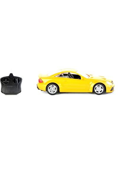 Black Horse G2035-1 1/18 Ölçek Uzaktan Kumandalı Şarjlı Araba - Sarı