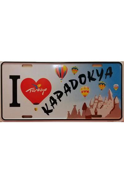 Si̇bi̇ro I Love Türkiye Kapadokya Dekoratif Plaka