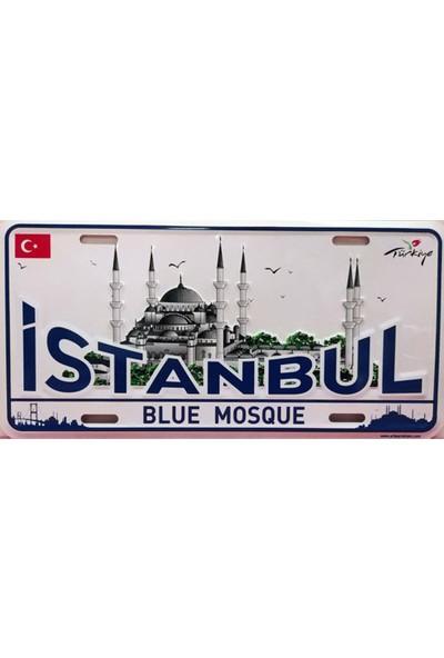 Si̇bi̇ro İstanbul Blue Mosque Sultanahmet Camii Dekoratif Plaka
