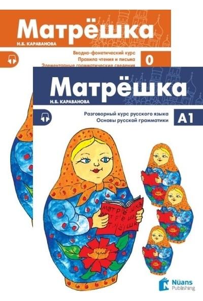 Matryoshka Set Rusça Seti - N. B. Karavanova