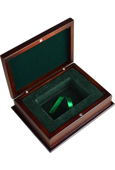 Promata Mücevher, Takı, Tesbih, Saat ve Tümü İçin Yılbaşı Hediye Kutusu, Ahşap