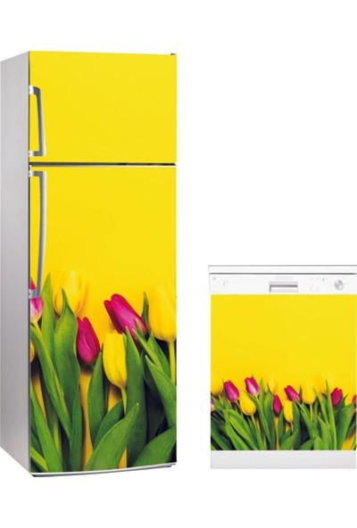 Super Sticx Buzdolabı Bulaşık Makinası Kombin Sticker
