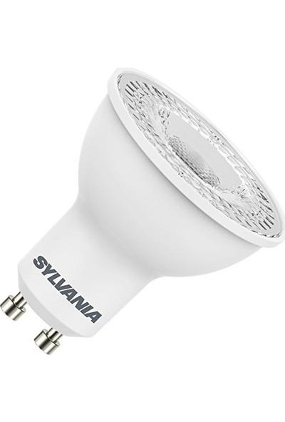 Sylvania 4.5W Çanak Spot Led Ampul Gu10 Duylu 2700K Sarı Işık (6 Adet)