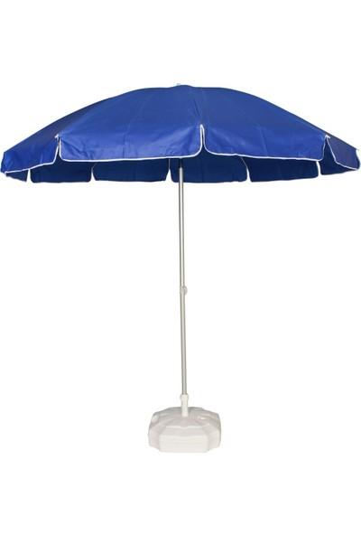 Primera Plaj Şemsiyesi 200 Cm Lacivert Kalın Oxford Kumaş ( Bidonlu )