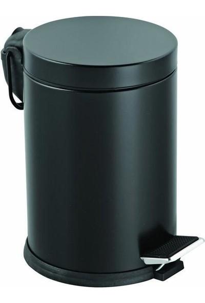 Primera Pedallı Çöp Kovası Siyah 12 Lt.