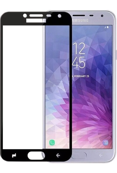 Sonmodashop Samsung Galaxy J4 2018 Tam Ekran 3D Cam Ekran Koruyucu J400F