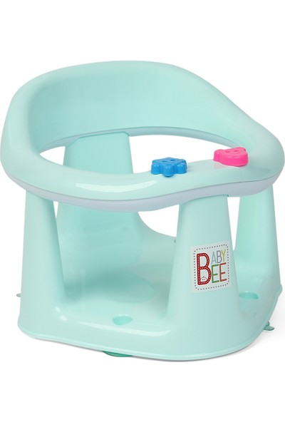 Baby Bee Bebek Banyo ve Mama Oturağı Mint