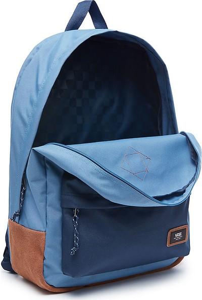 Vans Old Skool Plus Laptop Bölmeli Sırt Çantası Copen Blue