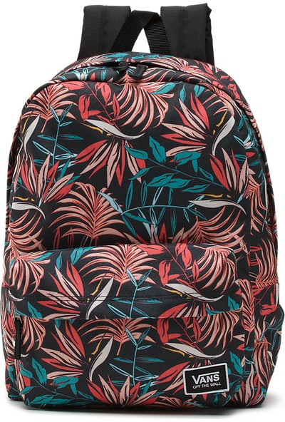 Vans Realm Classic Backpack Sırt Çantası Black California Flora