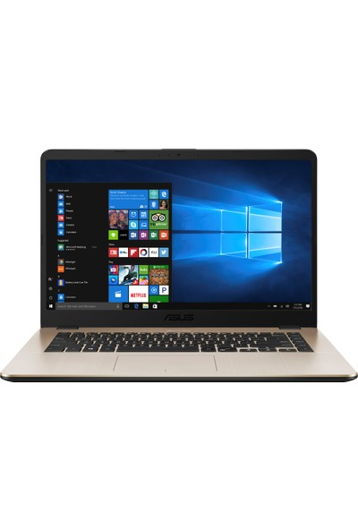 "Asus X505BP-BR046T AMD A9 9420 4GB 1TB R5 M420 Windows 10 Home 15.6"" Taşınabilir Bilgisayar"