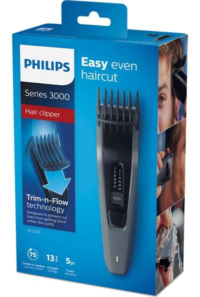 Philips 3000 Serisi HC3520/15 Saç Kesme Makinesi