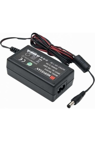 Mervesan 25 W Ac / Dc Switching Power Supply 2A - 12 Vdc