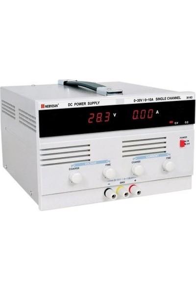 Mervesan Laboratuvar Tipi Güç Kaynakları 300W-10A