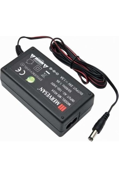 Mervesan 40 W Ac / Dc Switching Power Supply 1,5A - 24 Vdc