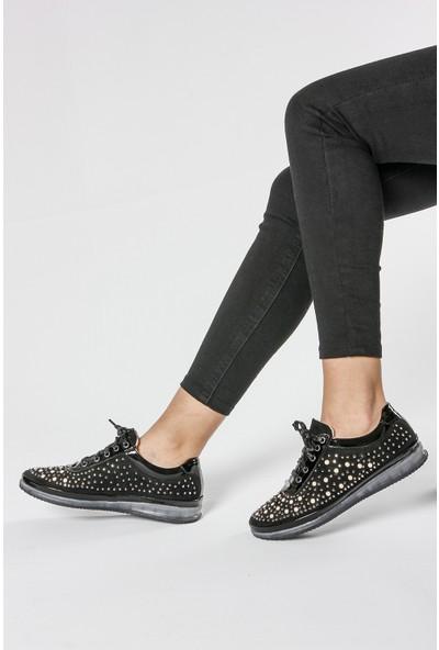 Rovigo Kadın Siyah - Platin - Ayakkabı 111158971