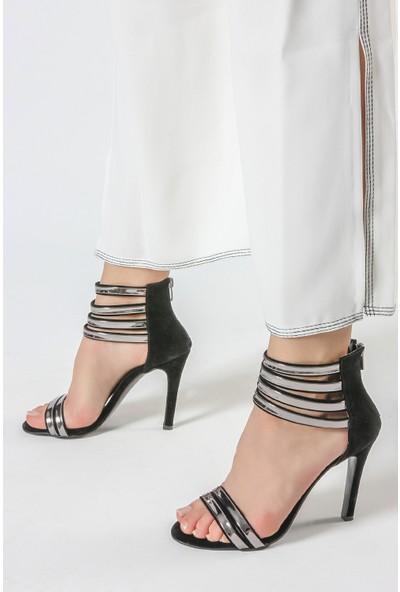 Rovigo Kadın Siyah - Platin Ayakkabı 1111900903