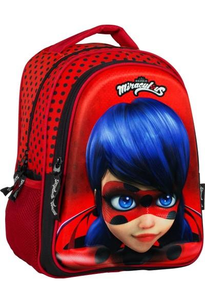 Ümit Çanta Miraculous Ladybug 3D İlkokul Çantası - Ümit Çanta 2037