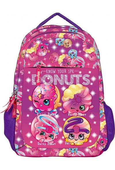 Ümit Çanta Shopkins Donuts Üç Bölmeli İlkokul Çantası - Kız Çocuk