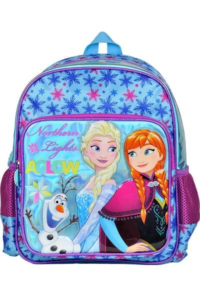 Hakan Çanta Frozen İki Bölmeli Simli Anaokulu Çantası 95214
