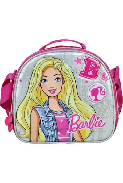 Hakan Çanta Simli Barbie Beslenme Çantası - Hakan Çanta 95270