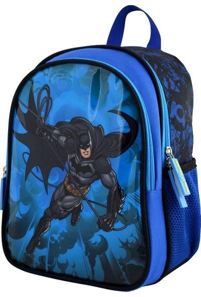 Trendix Justice League Batman Anaokulu Çantası 3E2-Jlbt (İki Bölmeli)