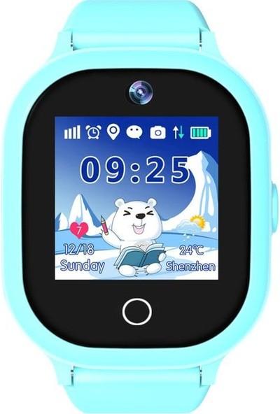 Sentar V80-06S GPS Özellikli Akıllı Çocuk Saati - Mavi