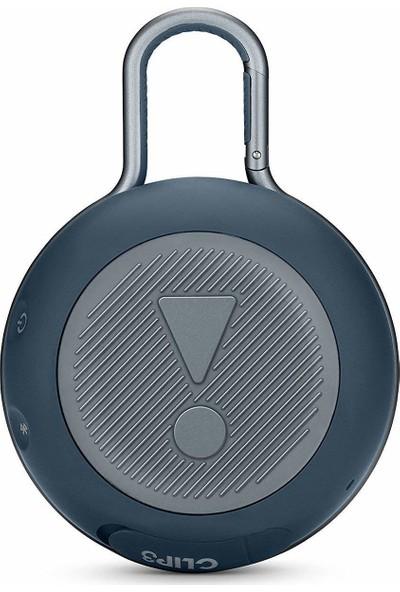 JBL Clip 3 IPX7 Su Geçirmez Taşınabilir Bluetooth Hoparlör Mavi