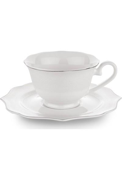 Schafer 12 Parça Dantella Kahve Fincan Takımı - Plt01