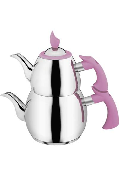 Aksu Yeni Dem Büyük Boy Çaydanlık - Fuşya 1552