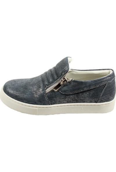 Papşin 271-1200 Kot Mavi Kız Çocuk Ayakkabısı
